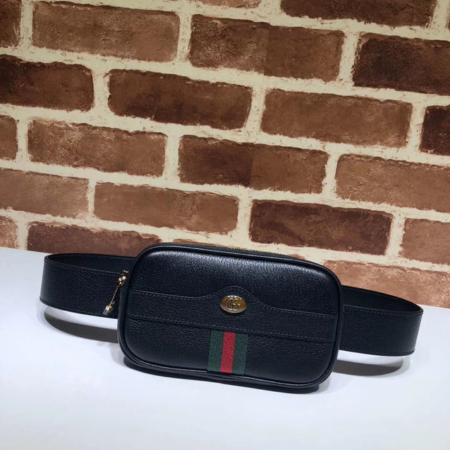 Gucci GG Original Leather belt bag 519308 black