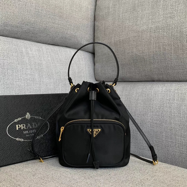 Prada Re-Edition nylon Tote bag 81166 black