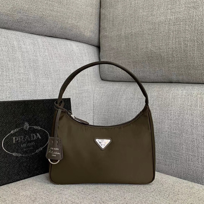 Prada Re-Edition nylon Tote bag 91204 Khaki