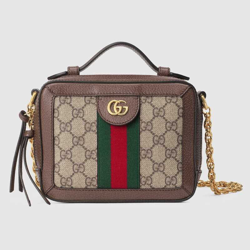 Gucci Ophidia series GG Mini Shoulder Bag 602576 brown