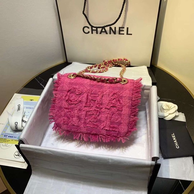 CHANEL 19 Flap Bag AS0974 rose