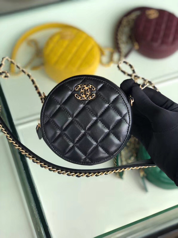 CHANEL Chain packet A0725 black