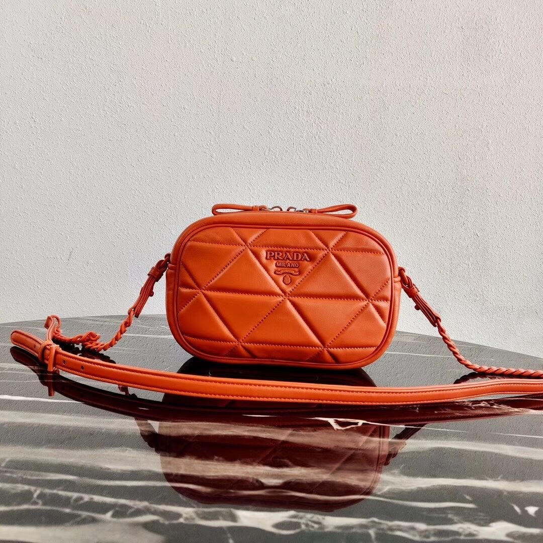 Prada Spectrum shoulder bag 1BH141 orange