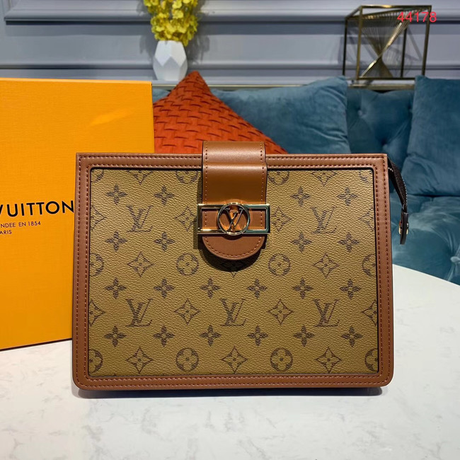 Louis Vuitton Original Clutch M44178 yellow