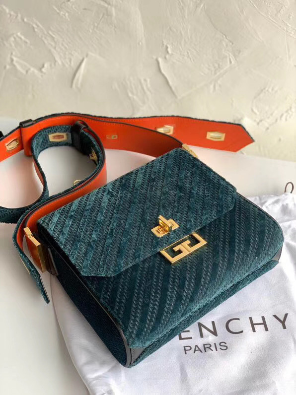 Givenchy Calfskin tote 0172 blue