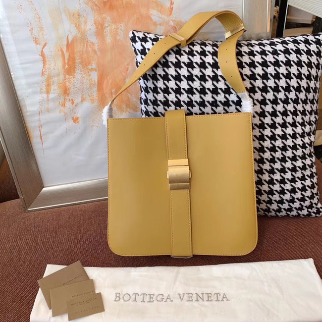 Bottega Veneta Sheepskin Original Leather 578344 yellow