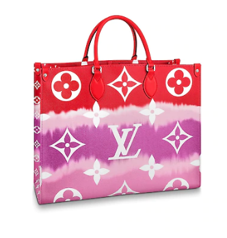 Louis Vuitton Monogram Canvas Original ONTHEGO M45119 red