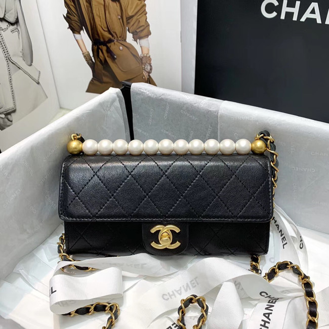 Chanel flap bag 88812 black