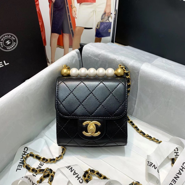 Chanel flap bag 88819 black