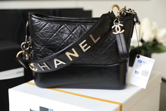 Chanel gabrielle hobo bag A93824 black