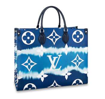 Louis Vuitton Monogram Canvas Original ONTHEGO M45119 blue