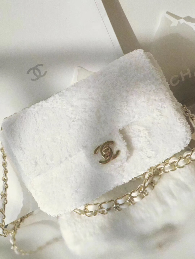 Chanel Flap Bag 1116 white