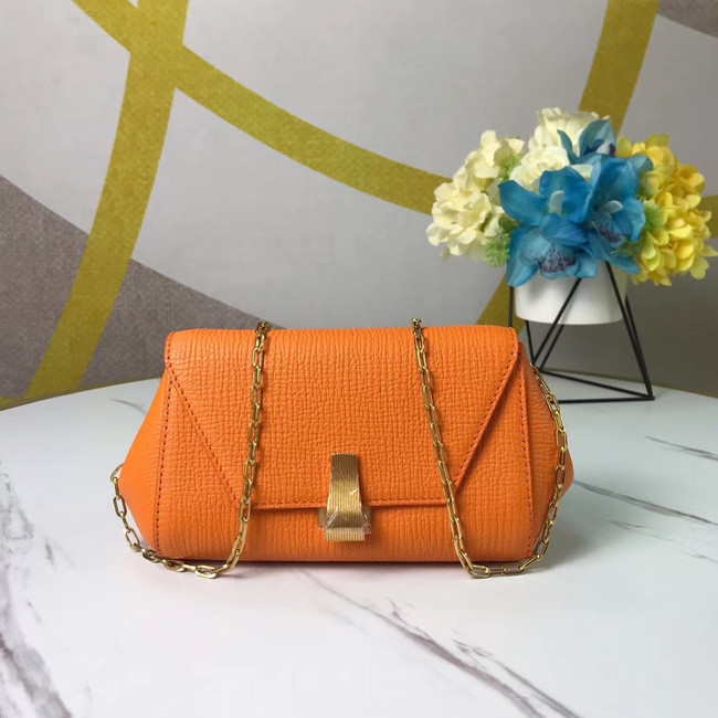 Bottega Veneta Original Leather Mini Chain Bag BV6700 yellow