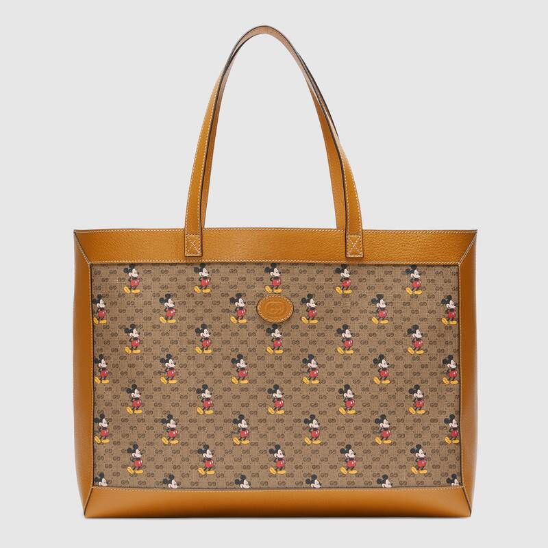 Gucci Disney x Gucci medium tote 547947 light brown