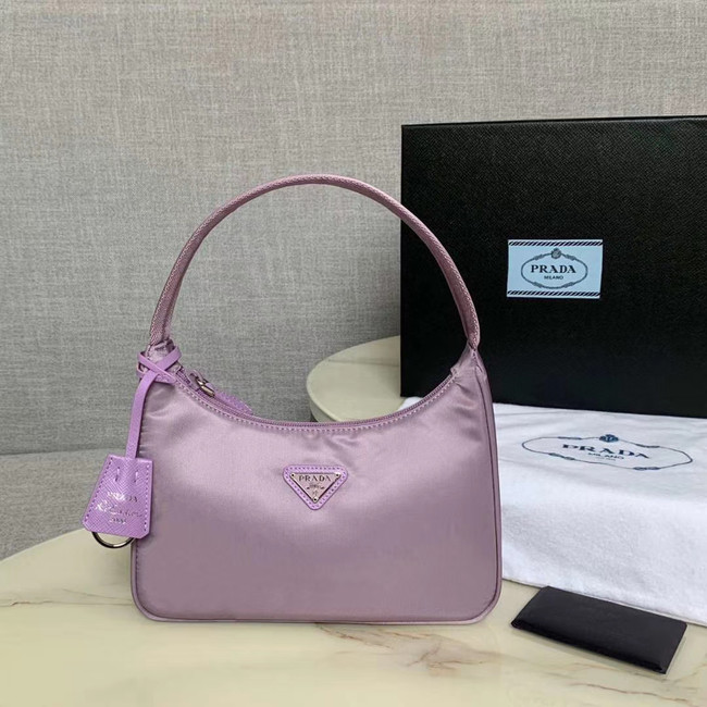 Prada Re-Edition 2000 nylon mini-bag 1NE515 Lavender