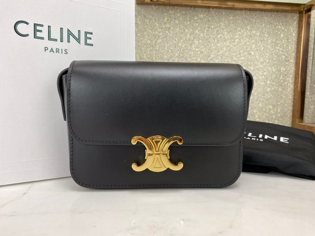 Celine MINI FOLCO BAG CANVAS CL01503 black