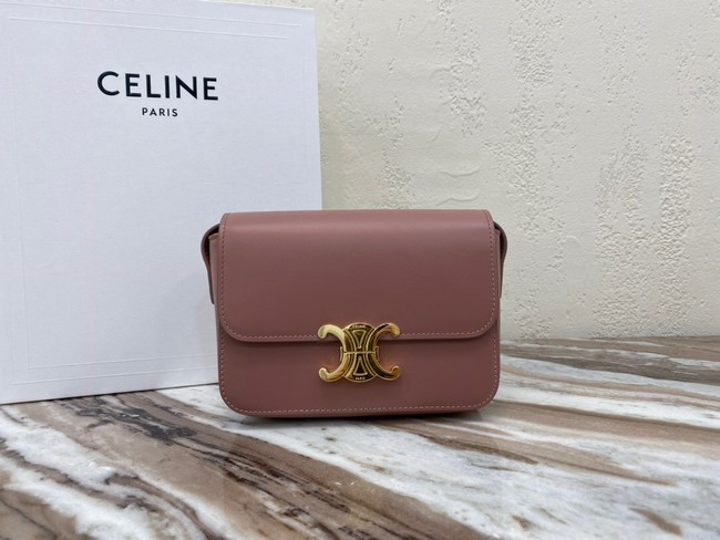 Celine MINI FOLCO BAG CANVAS CL01503 pink
