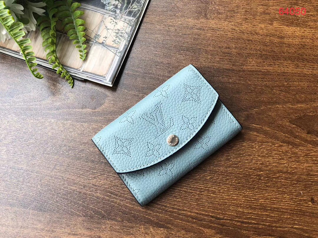 Louis vuitton original Iris Wallet M69213 blue