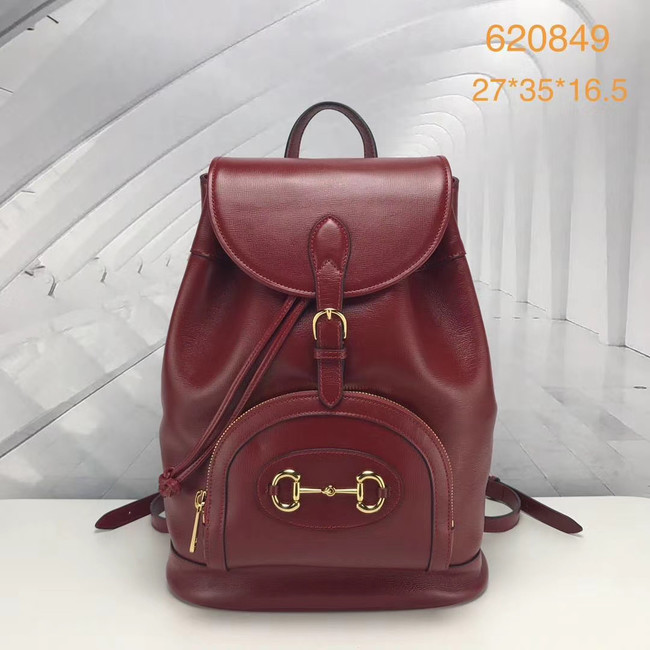 Gucci 1955 Horsebit backpack 620849 red