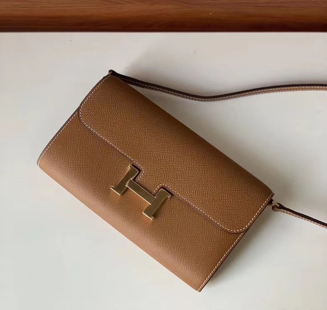 Hermes Constance to go mini Bag H4088 brown