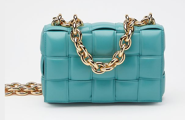 Bottega Veneta THE CHAIN CASSETTE Expedited Delivery 631421 blue