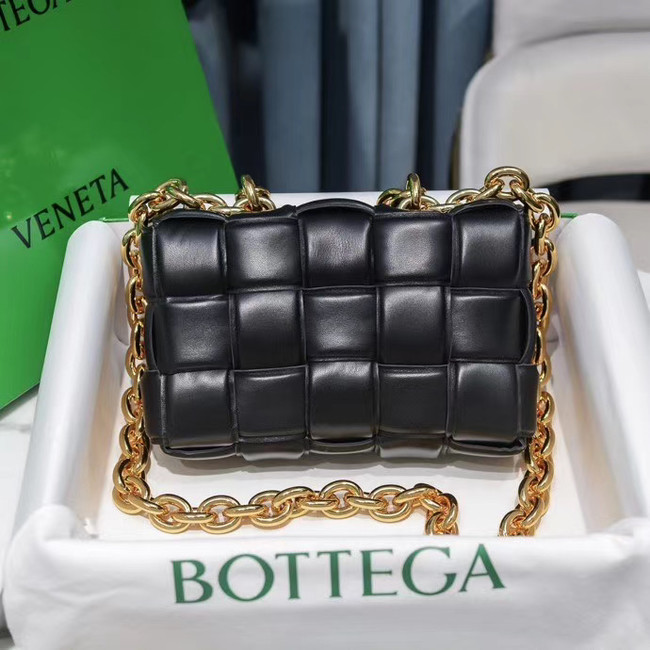 Bottega Veneta THE CHAIN CASSETTE Expedited Delivery 631421 black