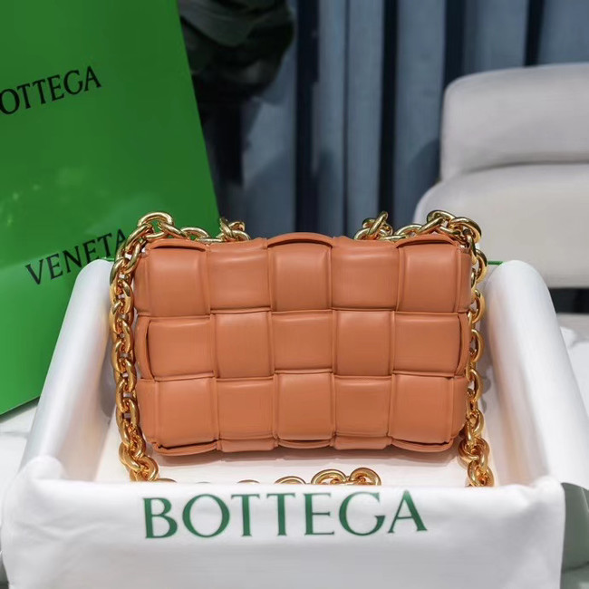 Bottega Veneta THE CHAIN CASSETTE Expedited Delivery 631421 brown