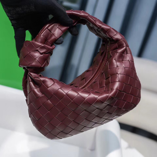 Bottega Veneta MINI BV JODIE 609409 Wine