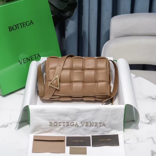 Bottega Veneta PADDED CASSETTE BAG 591970 Sandalwood
