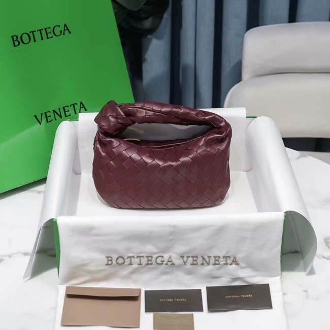 Bottega Veneta MINI BV JODIE 609409 Burgundy