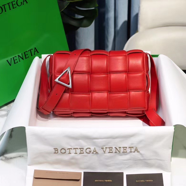 Bottega Veneta PADDED CASSETTE BAG 591970 RED