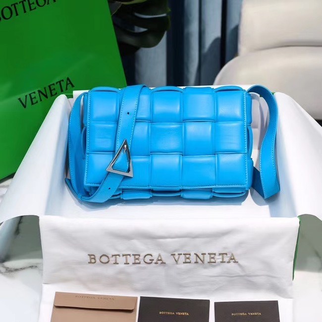 Bottega Veneta PADDED CASSETTE BAG 591970 blue