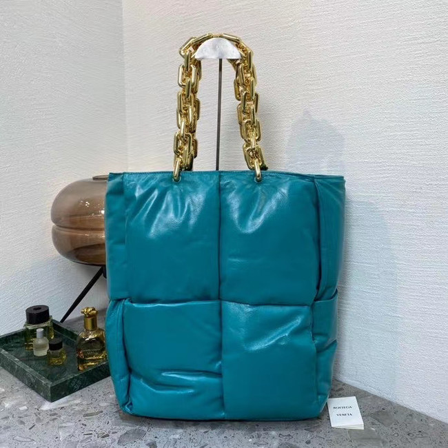 Bottega Veneta THE CHAIN TOTE 631257 blue