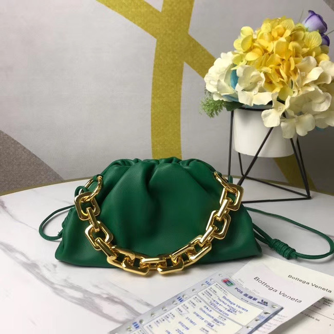 Bottega Veneta THE MINI CHAIN POUCH 620229 green