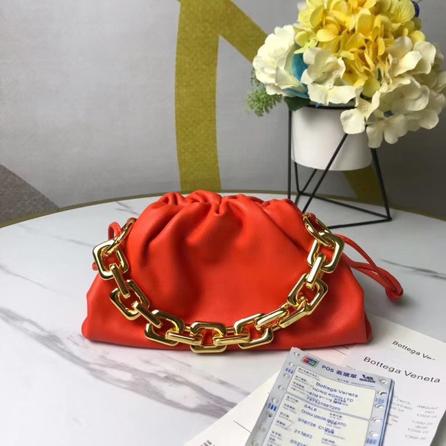 Bottega Veneta THE MINI CHAIN POUCH 620229 red