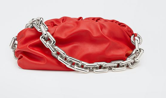 Bottega Veneta THE CHAIN POUCH 620230 red