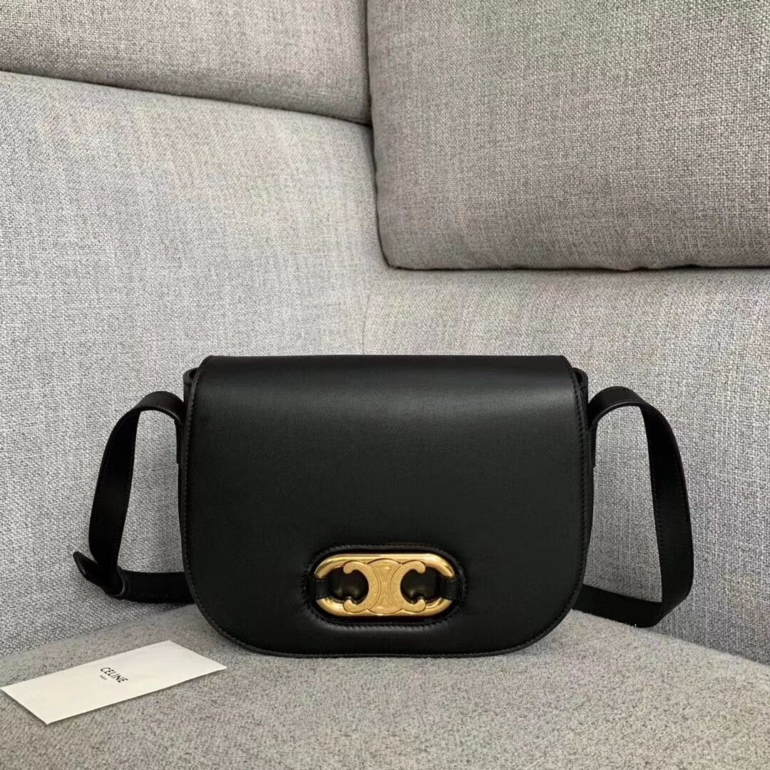 CELINE Original Leather Bag CL93123 black