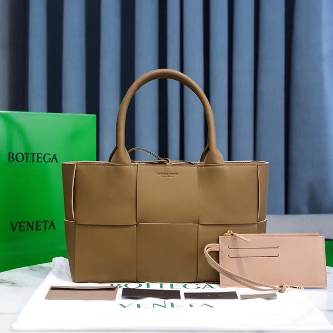 Bottega Veneta ARCO TOTE 609175 MOUTARDE