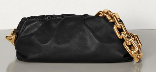 Bottega Veneta THE CHAIN POUCH 620230 BLACK