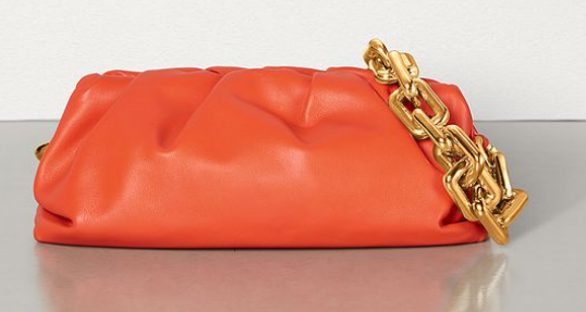 Bottega Veneta THE CHAIN POUCH 620230 ORANGE