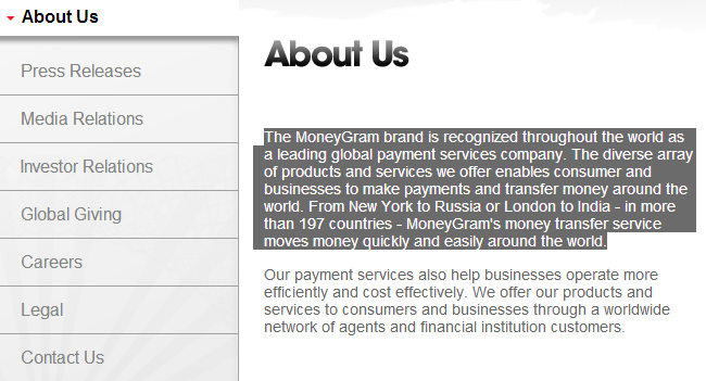 how to send moneygram online from canada